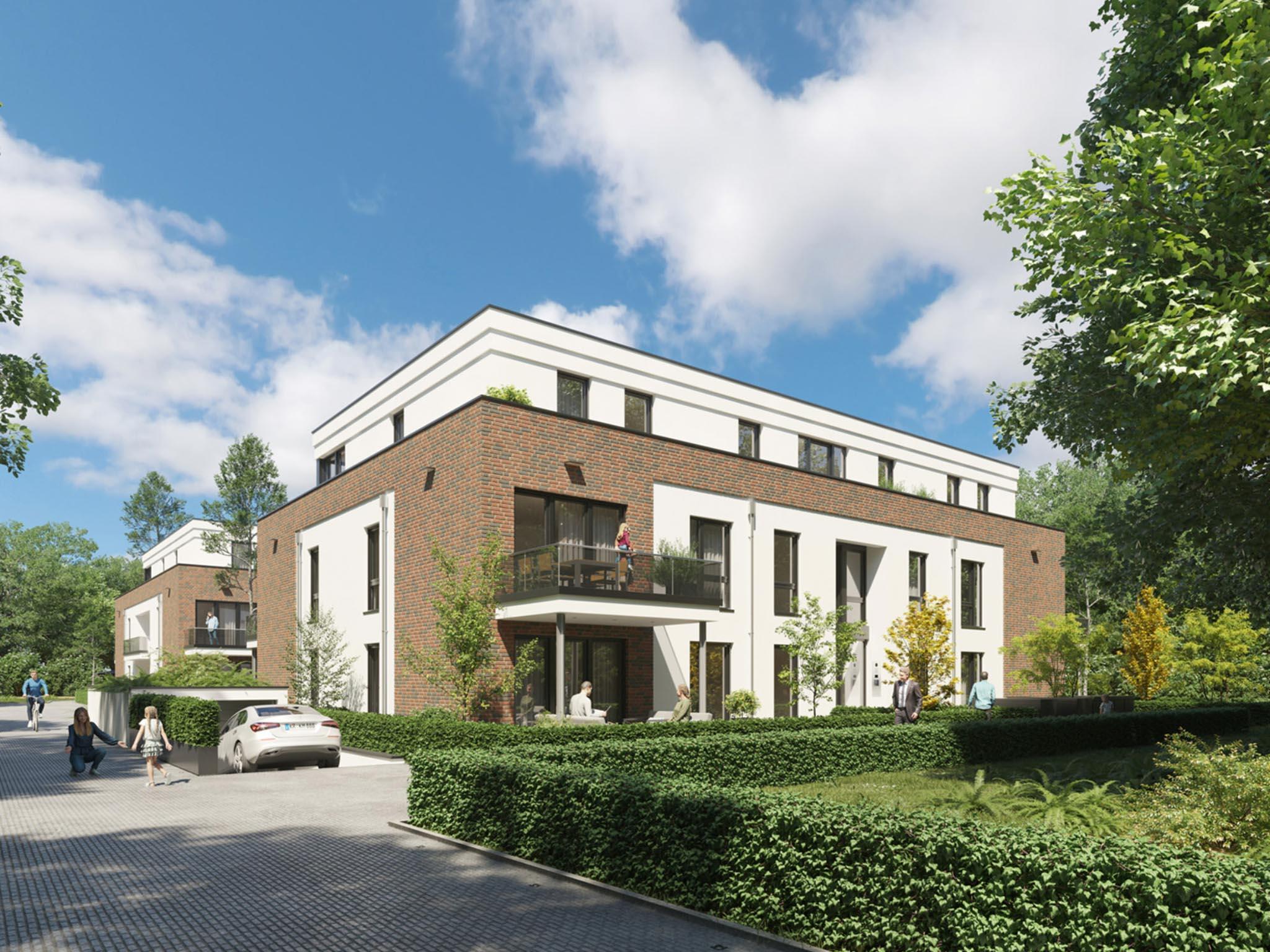 Neubau Wohnprojekt GRÜNES W in Fischeln