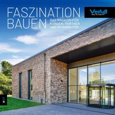 Titel von Faszination Bauen – Magazin