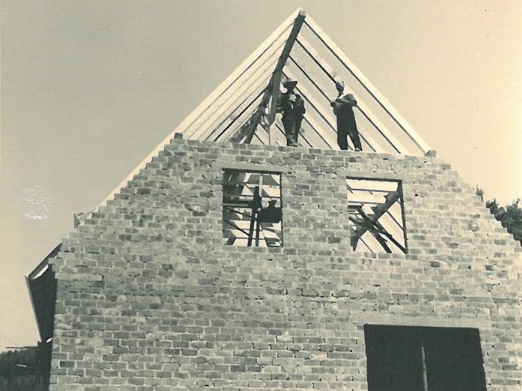 historisches Foto zur Firmengeschichte von Verfuß