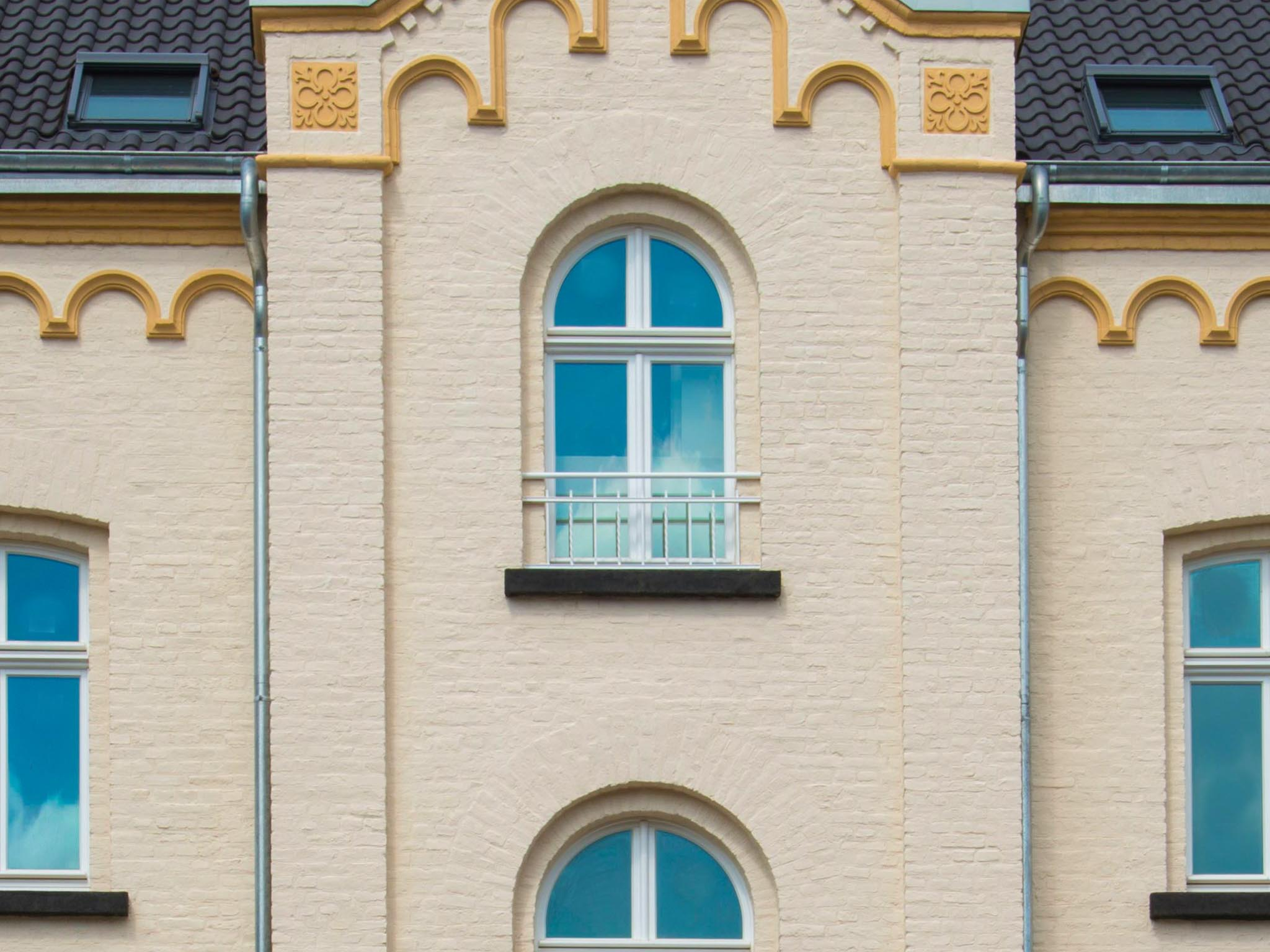 neue Fassade Lambertus 1