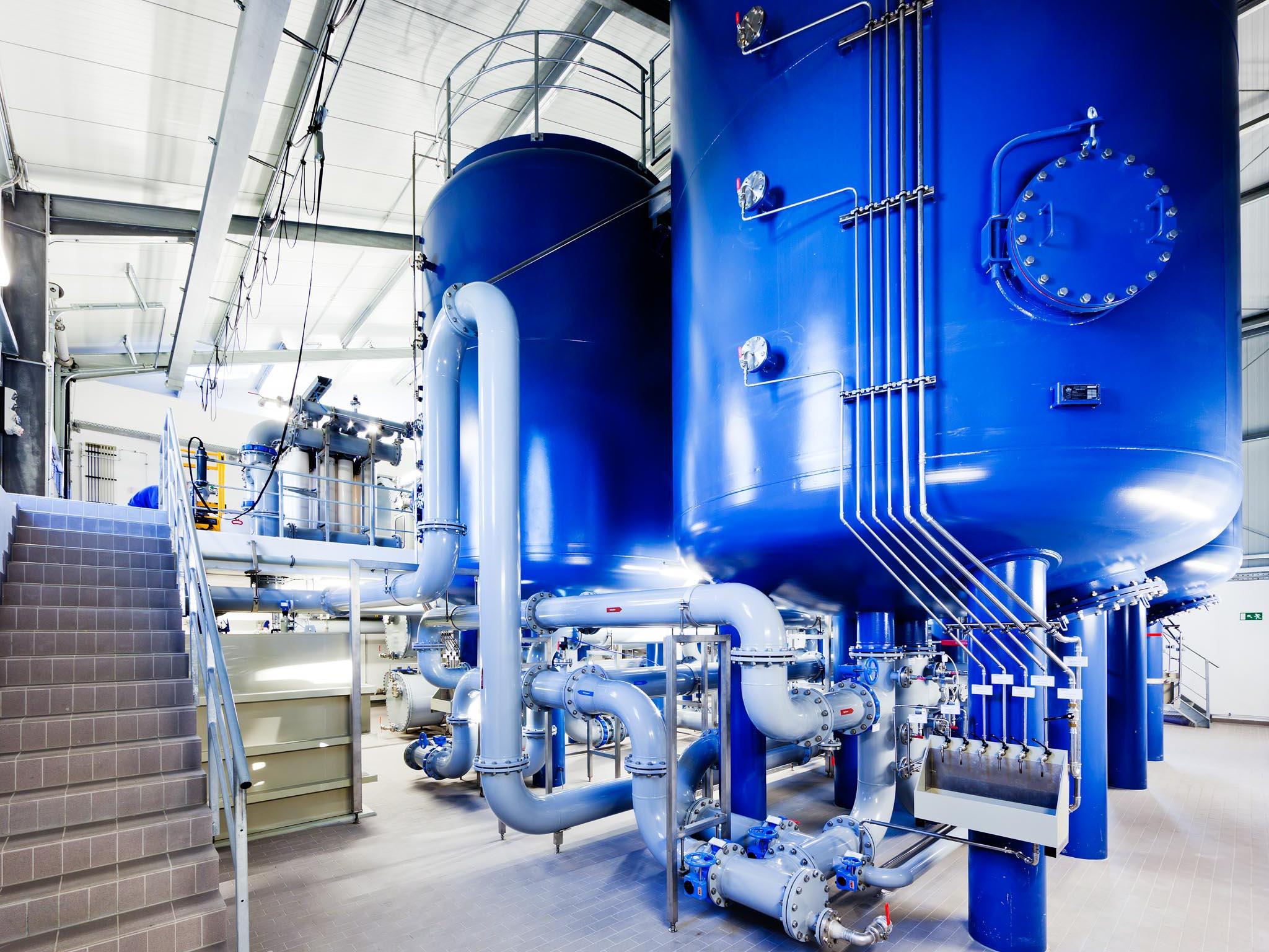 Wassertank eines Hausversorgungssystems