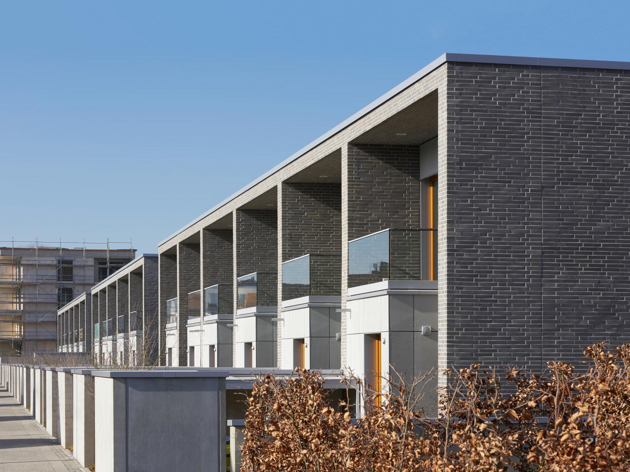 Moderne Reihenhäuser in Köln