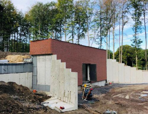 Neubau eines Wasserhochbehälters in Menden