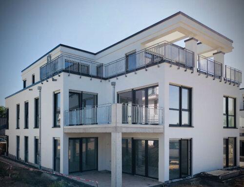 Neubau von Mehrfamilienhäusern in Essen-Haarzopf